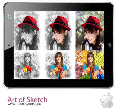 Art of Sketch Pro v2.0 تبدیل عکس به نقاشی Art of Sketch Pro v2.0 – آیفون و آیپد