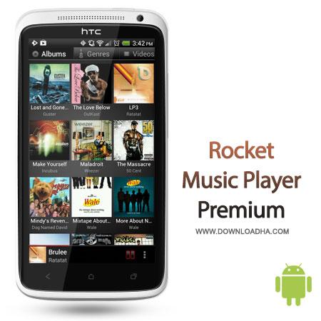 دانلود Rocket Music Player Premium 3.0.0.0  موزیک پلیر اندروید