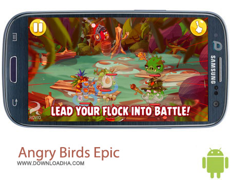 Angry Birds Epic 1.0.9 بازی محبوب Angry Birds Epic 1.0.9 – اندروید