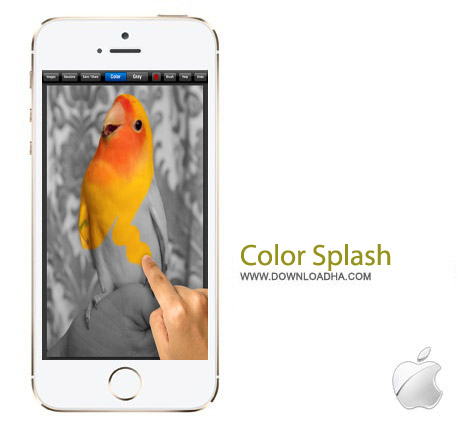 Color Splash v3.0 نرم افزار ویرایش عکس Color Splash v3.0 – آیفون و آیپد و آیپاد