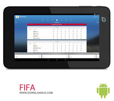 FIFA 2.1 اطلاع از بازی های فوتبال FIFA 2.1 – اندروید