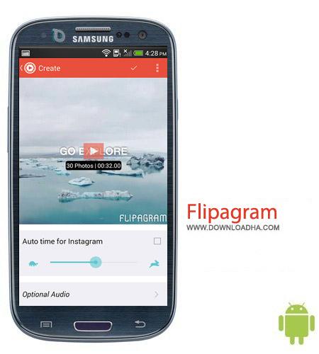 Flipagram v2.1 ساخت ویدئو کوتاه با عکس Flipagram v2.1 – اندروید
