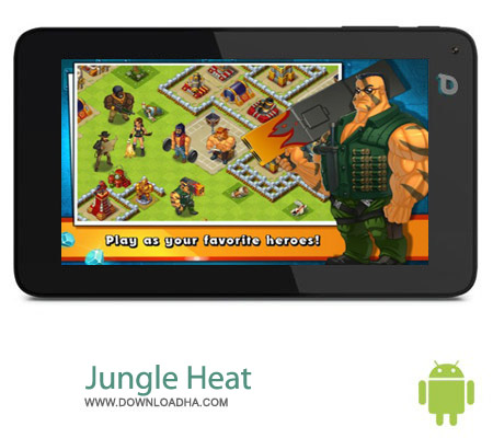 Jungle Heat v1.5.3 بازی استراتژیک جنگل های گرم Jungle Heat v1.5.3 – اندروید