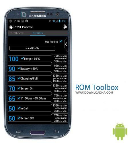 ROM Toolbox Pro 6.0.4 نرم افزار مدیریت رام ROM Toolbox Pro 6.0.4 – اندروید
