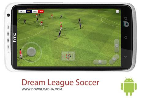 Dream League Soccer 1.57 بازی لیگ رویایی فوتبال Dream League Soccer 1.57 – اندروید
