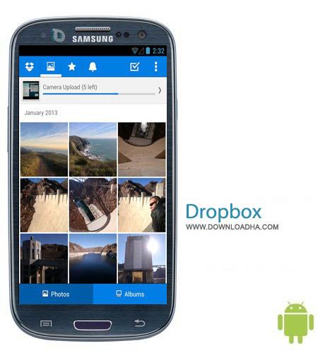 Dropbox 2.4.2 نرم افزار رسمی دراپ باکس Dropbox 2.4.2 – اندروید