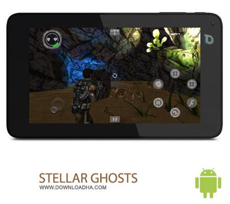 STELLAR GHOSTS v2 بازی اکشن ارواح STELLAR GHOSTS v2 – اندروید
