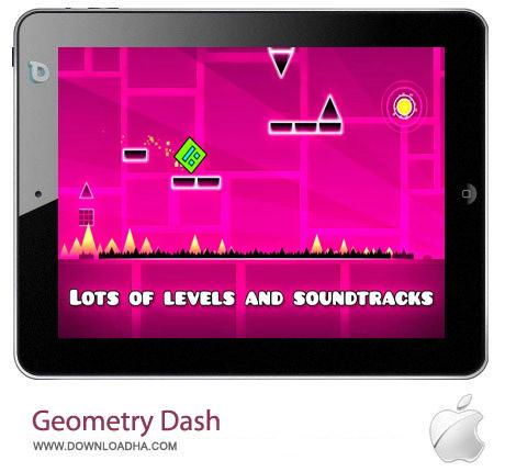 Geometry Dash v1.71 بازی فکری هندسه Geometry Dash 1.71 – آیفون ، آیپد و آیپاد