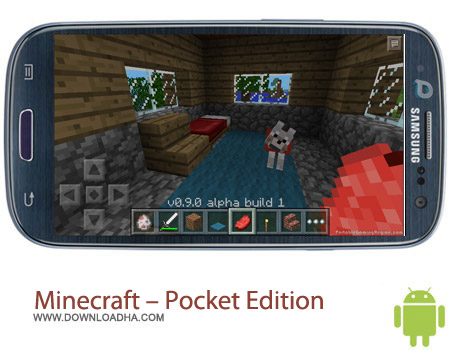 Minecraft %96 Pocket Edition v0.9.0 بازی فکری ماین کرافت Minecraft – Pocket Edition v0.9.0 – اندروید