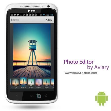 Photo Editor by Aviary v3.4.2 نرم افزار ویرایش آسان عکس Photo Editor by Aviary v3.4.2 – اندروید