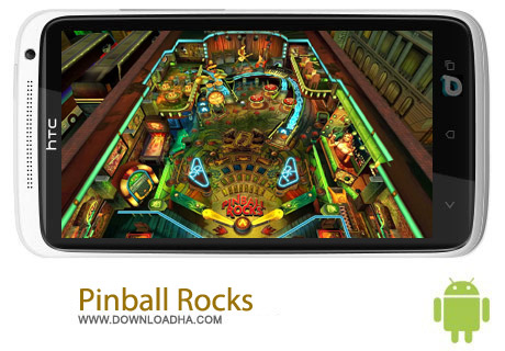 Pinball Rocks v1.0.5.2564 بازی هدایت توپ Pinball Rocks HD v1.0.5.2564 – اندروید