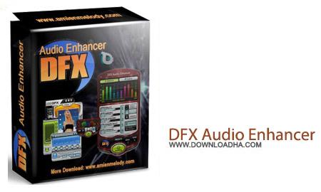 DFX Audio Enhancer v11.200 نرم افزار افزایش کیفیت پخش موسیقی DFX Audio Enhancer v11.200