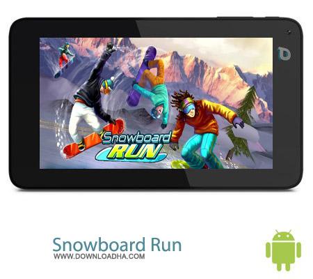 Snowboard Run 1.3 بازی اسنو برد Snowboard Run 1.3 – اندروید