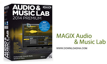 MAGIX Audio %26 Music Lab 2014 Premium 20.0.1 نرم افزار ویرایش حرفه ای موزیک MAGIX Audio & Music Lab 2014 Premium 20.0.1