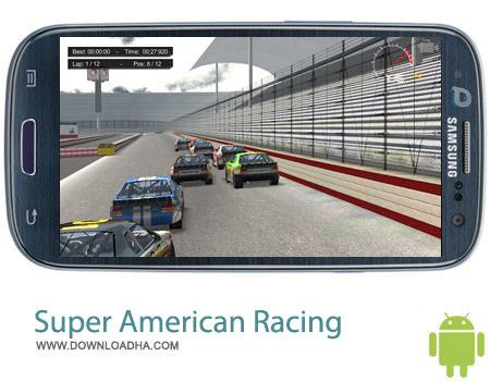 Super American Racing v1.0 بازی اتومبیل رانی Super American Racing v1.0 – اندروید
