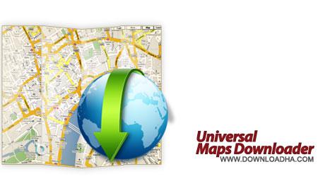 Universal%20Maps%20Downloader%207.305 نرم افزار دانلود نقشه های اینترنتی Universal Maps Downloader 7.305