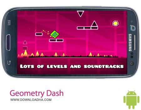 Geometry Dash v1.70 بازی فکری هندسه Geometry Dash v1.70 – اندروید