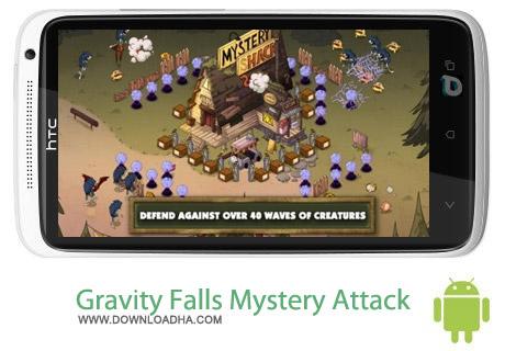 Gravity Falls Mystery Attack v1.0 بازی آبشار Gravity Falls Mystery Attack v1.0 – اندروید