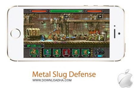 Metal Slug Defense 1.0.1 بازی دفاعی Metal Slug Defense 1.0.1 – آیفون ، آیپد و آیپاد