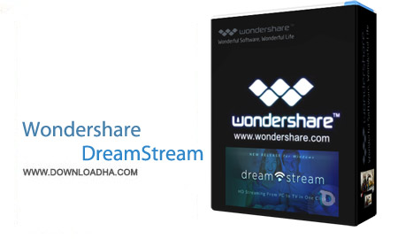 Wondershare DreamStream 1.1.6.3 نرم افزار پخش فیلم از کامپیوتر بر روی تلویزیون Wondershare DreamStream 1.1.6.3
