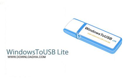 نرم افزار ساخت فلش بوتیبل WindowsToUSB Lite 1.3.2.0