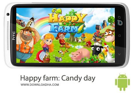 Happy farm Candy day 2.3.4 بازی کار در مزرعه Happy Farm:Candy Day v2.4.3 – اندروید
