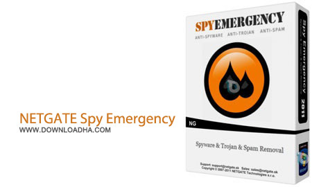 NETGATE Spy Emergency 13.0.705.0 نرم افزار ضد جاسوسی NETGATE Spy Emergency 13.0.705.0