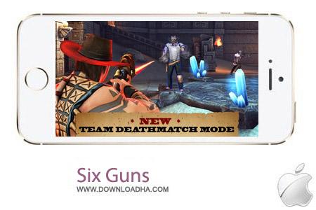 Six Guns 2.4.0 بازی شش اسلحه Six Guns 2.4.0 – آیفون ، آیپد و آیپاد