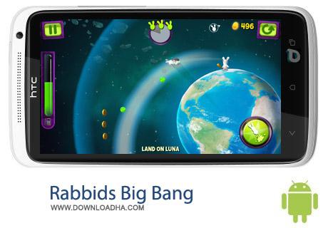 Rabbids Big Bang 2.1.2 بازی هیجان انگیز Rabbids Big Bang 2.1.2 – اندروید