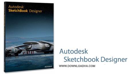 Autodesk Sketchbook Designer 6.2.5 نرم افزار طراحی و نقاشی حرفه ای Autodesk Sketchbook Designer 6.2.5
