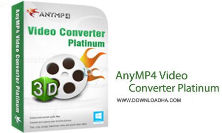 AnyMP4 Video Converter Platinum نرم افزار تبدیل انواع فایل های تصویری AnyMP4 Video Converter Platinum 6.1.18