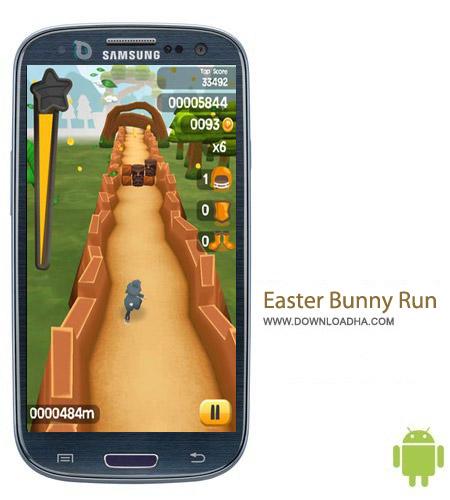 Easter Bunny Run v1.0.1 بازی فرار خرگوش Easter Bunny Run v1.0.1 – اندروید