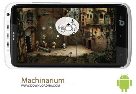 Machinarium 2.0.17 بازی فکری و سرگرم کننده Machinarium 2.0.17 – اندروید