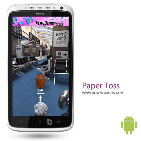 Paper Toss 2.0 1.0.2 بازی جذاب و تماشایی Paper Toss 2.0 1.0.2 – اندروید