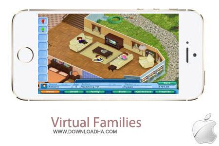 Virtual Families 2 بازی خانواده مجازی Virtual Families 2 1.4.1 – آیفون ، آیپد و آیپاد