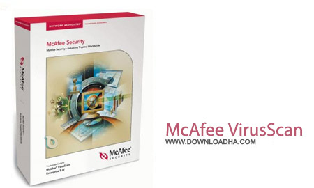 McAfee VirusScan Enterprise v8.8 Patch 4 نرم افزار ضد ویروس مک آفی McAfee VirusScan Enterprise v8.8