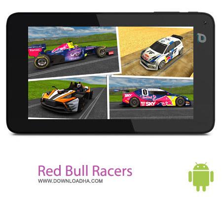 Red Bull Racers v1.04 بازی مسابقات اتومبیل رانی Red Bull Racers v1.04 – اندروید