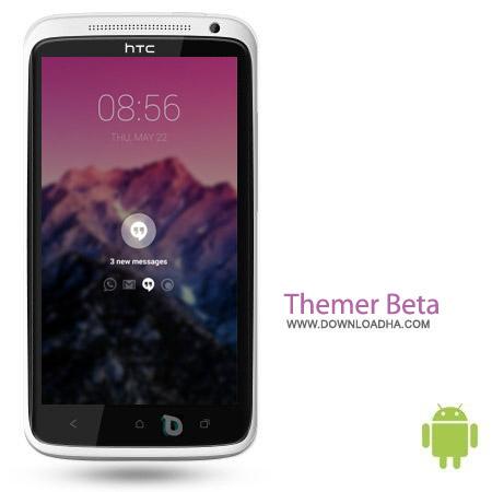 Themer Beta v1.53 نرم افزار لانچر محبوب Themer Beta v1.53 – اندروید