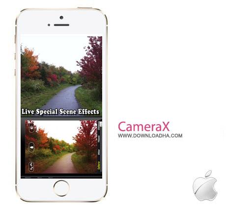 CameraX 2.3.1 نرم افزار عکاسی CameraX 2.3.1 – آیفون و آیپد