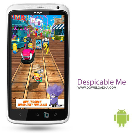 Despicable Me v1.8.0u بازی من نفرت انگیز Despicable Me v1.8.0u – اندروید