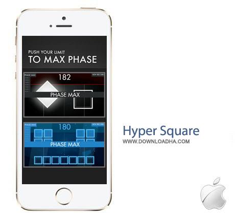 Hyper Square 2.0.2 بازی فکری خلاقانه Hyper Square 2.0.2 – آیفون ، آیپد و آیپاد