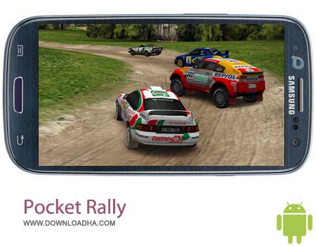 Pocket Rally v1.1.1 بازی مسابقات اتومبیل رانی پاکت Pocket Rally v1.1.1 – اندروید