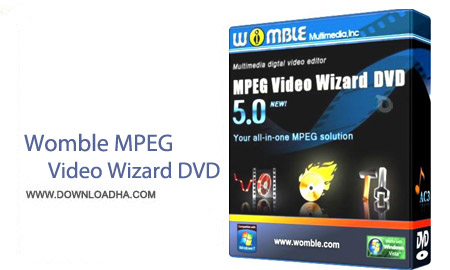 Womble MPEG Video Wizard DVD 5.0.1.110 نرم افزار ویرایش فیلم Womble MPEG Video Wizard DVD 5.0.1.110