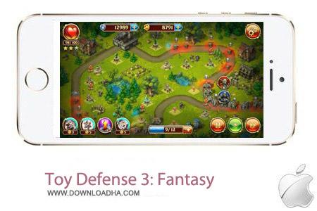 Toy Defense 3 Fantasy بازی دفاعی Toy Defense 3: Fantasy 1.4 – آیفون ، آیپد و آیپاد