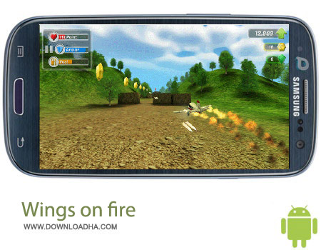 Wings on fire v1.0 بازی هواپیمایی Wings on fire v1.0 – اندروید
