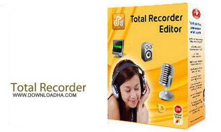 Total Recorder Editor Pro 14.2.1 نرم افزار ضبط و ویرایش صدا و تصویر Total Recorder Editor Pro 14.2.1
