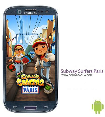 Subway Surfers Paris 1.26.0 بازی سرگرمکننده Subway Surfers Paris 1.26.0 – اندروید