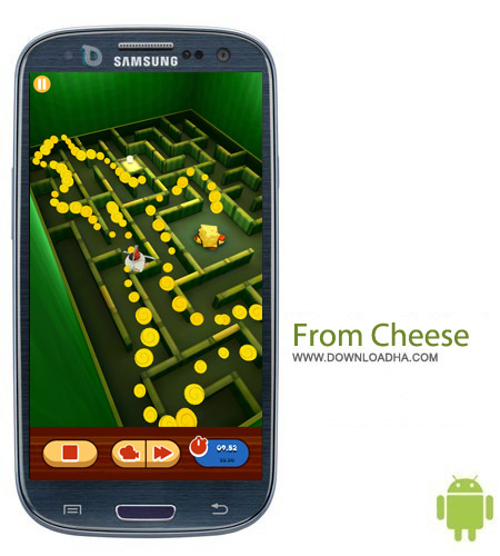 From Cheese v1.5.1 بازی برش پنیر From Cheese v1.5.1 – اندروید