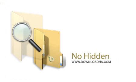No Hidden v2.2 نرم افزار رفع مخفی شدن فایل بر اثر ویروس No Hidden v2.2