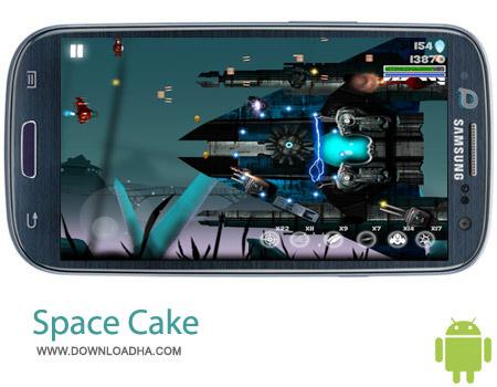 Space Cake 1.0 بازی فضایی Space Cake 1.0 – اندروید